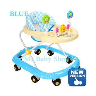 Brand new Walker/Baby walker/baby chair/toys and Music /Adjustable height/cot/stroller