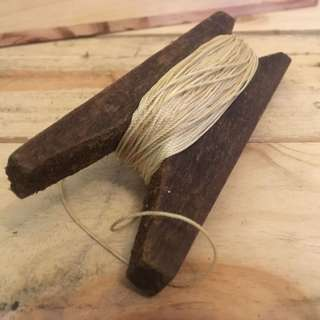 Antique kite rope
