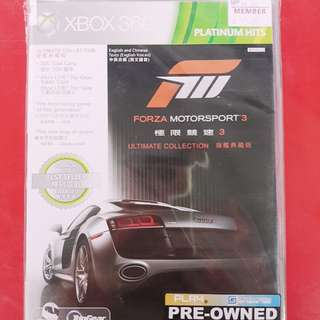 [PRE-OWNED] XBOX 360 Forza Motorsport 3