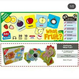"Puzzle Puzzlo ""what fruit?"""