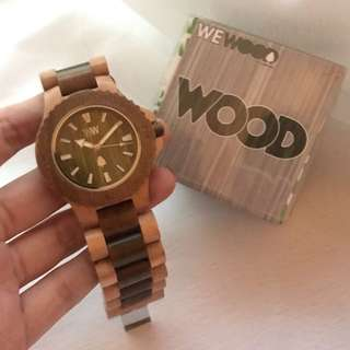 Wewood Wooden Watch 本製手表
