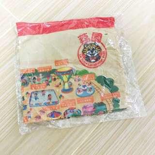 荔園地圖手巾