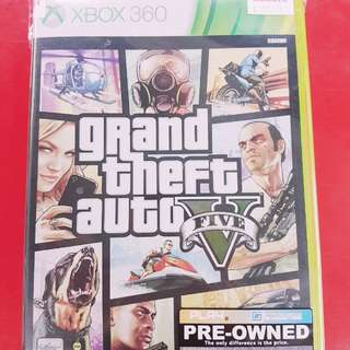 [PRE-OWNED] XBOX 360 Grand Theft Auto 5