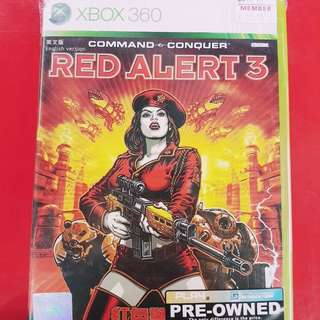 [PRE-OWNED] XBOX 360 Red Alert 3