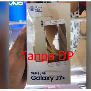 Samsung j7 plus kredit awan Tunai / aeon kredit