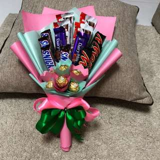 Mixed chocolate bouquet