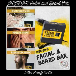 🎀 MENSIVE FACIAL AND BEARD BAR SOAP 🎀