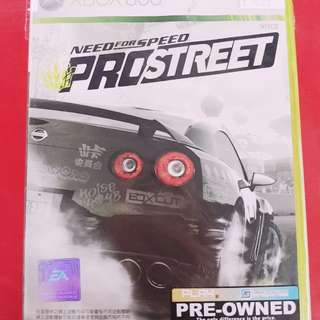 [PRE-OWNED] XBOX 360 Need For Speed Pro-Street