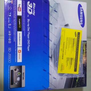三星藍光機/DVD機 Samsung Blu-ray Disc Player/DVD Player BD-J5500