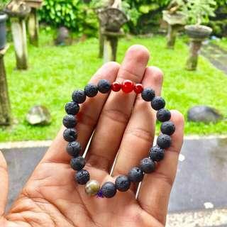 Lava Stones Bracelet 006