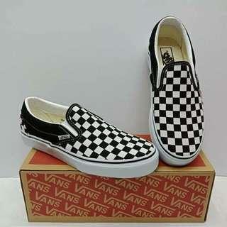 Vans Slip On Checkered 🏁🏁