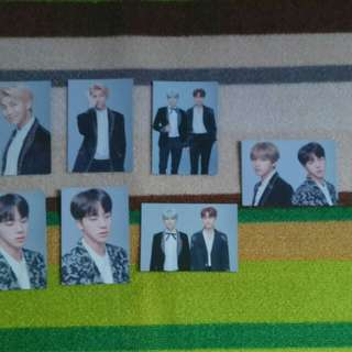BTS WINGS FINAL TOUR PHOTOCARD