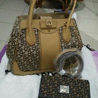 DKNY original bag with wallet