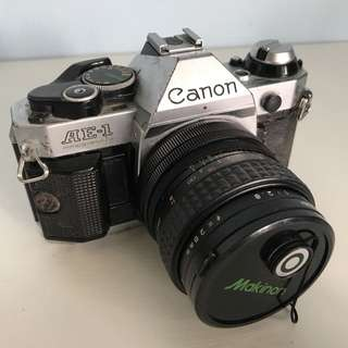 Canon AE-1P with 28mm f2.8