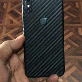 Iphone X Carbon Fiber skins