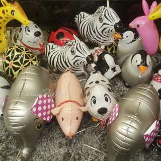 INSTOCK: PET WALKER HELIUM BALLOON ANIMALS