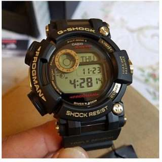 全新Casio G-Shock 35週年紀念版GWF-D1035B-1DR Frogman