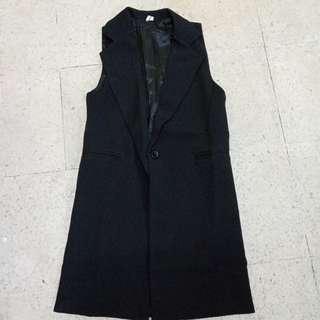 Premium vest black