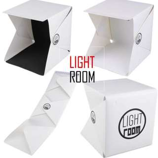 [Sales] Brand New Portable Mini Photo Studio Photography Box With Built In LED Light