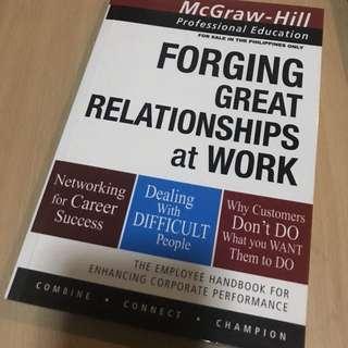 Forging great relationships