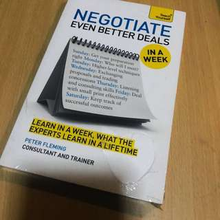 Negotiate even better deals