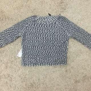H&M crop top sweater