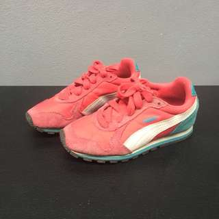 Puma Red & Blue Rubber Shoes