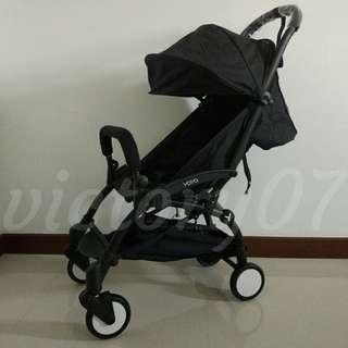 BN Yoya 3gen Lightweight Baby Stroller, Black
