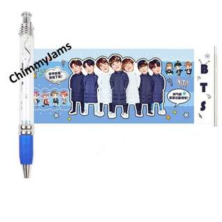 BTS Pen with Picture Pullout