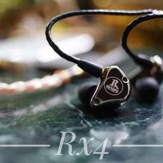 ROYHPS RX4 四單元圈鐵混合耳機 多單元 換線 藍牙 升級線