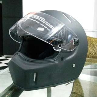 CRG Helmet + Xtra Visor + Balaclava