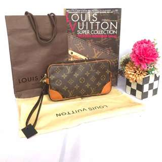 Authentic Louis Vuitton Marly Mini Clutch