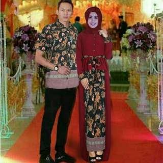Cp prada marun batik Hitam.