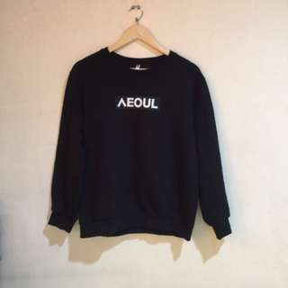 Black Pullover Jacket from Seoul