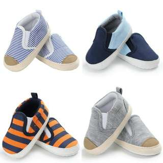 Baby Boy First Walker Non-slip Soft Sole Shoes