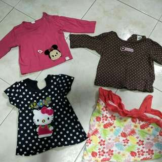 Baju Baby Girl( hello katty sold)