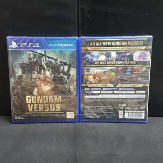 [BN] PS4 Gundam Versus (Brand New)