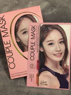 T- Ara Pore Minimizing Couple Mask