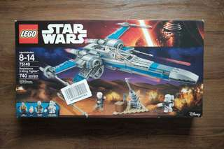 LEGO Star Wars Resistance X-Wing Fighter 75149 Toy