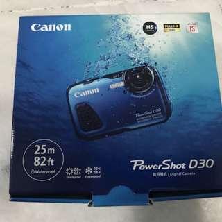 Canon PowerShot D30 Waterproof 25m