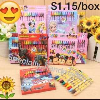 Party supplies: Crayon (Goody bag / Goodie bag item)