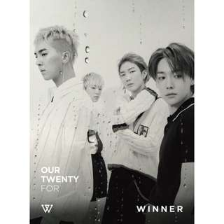 WINNER OUR TWENTY FOR JAPANESE ALBUM