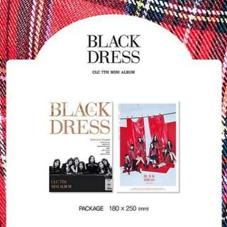 (Non Profits) CLC 7th Mini Album Black Dress