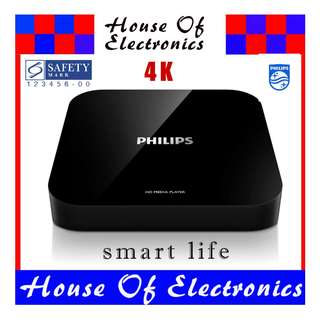 philips ultra HD 4k Android Media Player. smart box.