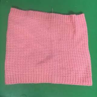 Baby Pink h&m Winter Scarf