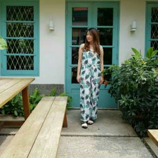 Palm jumpsuit