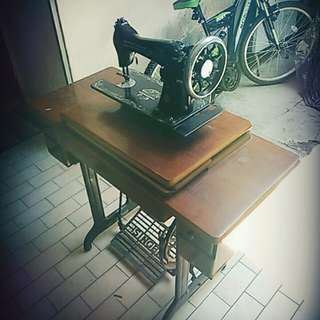 Grandmother sewing machine