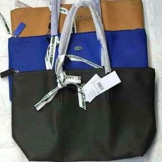 Authentic Lacoste Horizontal Bag