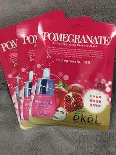 Ekel! Pomegranate Sheet Mask