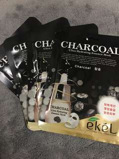 Ekel! Charcoal Sheet Mask